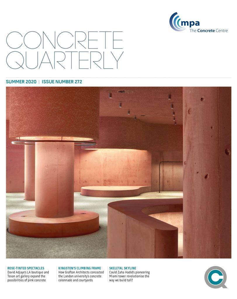 Concrete Quarterly cover